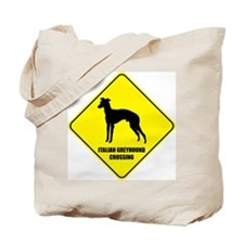 Greyhound Crossing Tote Bag