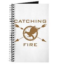Catching Fire Arrows Brown Logo Journal