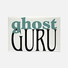 Ghost Guru Rectangle Magnet