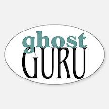Ghost Guru Oval Decal