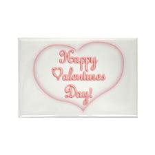 Happy Valentine's Day! Rectangle Magnet