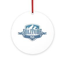 Solitude Utah Ski Resort 1 Ornament (Round)