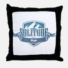 Solitude Utah Ski Resort 1 Throw Pillow