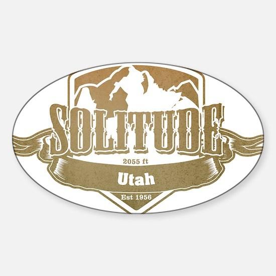 Solitude Utah Ski Resort 4 Decal