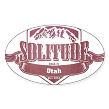 Solitude Utah Ski Resort 2 Decal