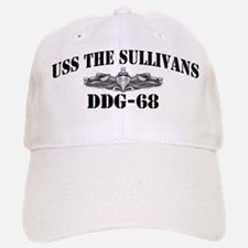 USS THE SULLIVANS Baseball Baseball Cap