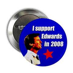 John Edwards for President Button