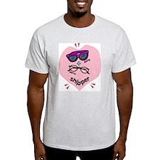 Betty Henry Shipper Ash Grey T-Shirt