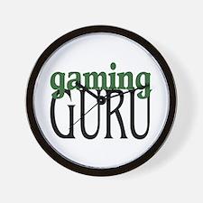 Gaming Guru Wall Clock