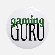 Gaming Guru Ornament (Round)