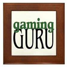Gaming Guru Framed Tile