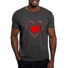 I Love You Heart T-Shirt