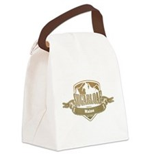 Sugarloaf Maine Ski Resort 4 Canvas Lunch Bag
