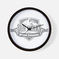 Sun Peaks British Columbia Ski Resort 5 Wall Clock