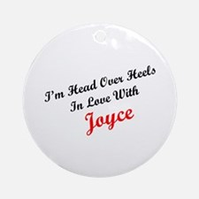 In Love with Joyce Ornament (Round)