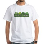 World Peas White T-Shirt