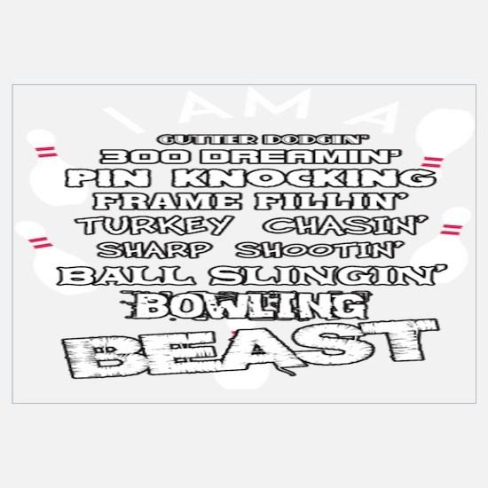 Bowling Wall Art