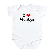 I Love My Aya Infant Bodysuit