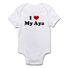 I Love My Aya Onesie