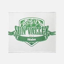 Sun Valley Idaho Ski Resort 3 Throw Blanket