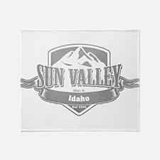 Sun Valley Idaho Ski Resort 5 Throw Blanket