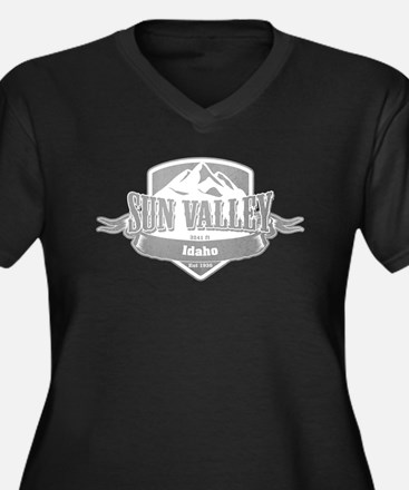 Sun Valley Idaho Ski Resort 5 Plus Size T-Shirt