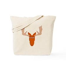Cartoon Moose Head Tote Bag