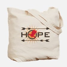 Catching Fire Hope Tote Bag