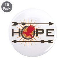 "Catching Fire Hope 3.5"" Button (10 pack)"
