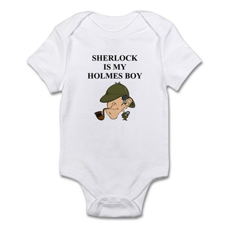 sherlock holme gifts and t-sh Infant Bodysuit