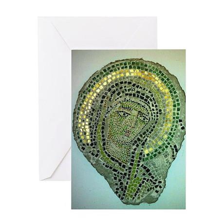 Madonna (Byzantine icon) Greeting Card