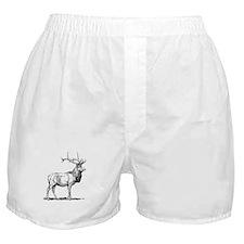 Elk Sketch Boxer Shorts