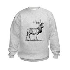 Elk Sketch Sweatshirt