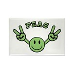 Peas Rectangle Magnet (100 pack)