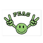 Peas Postcards (Package of 8)