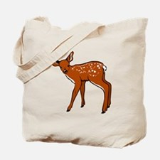 Brown Fawn Tote Bag