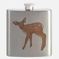 Brown Fawn Flask