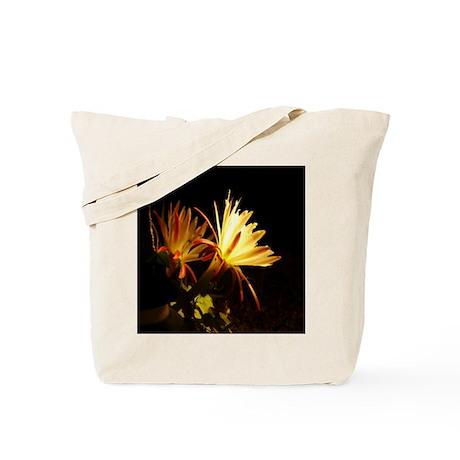 Cereus Cactus Blossoms Tote Bag