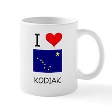 I Love KODIAK Alaska Mugs