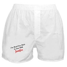 In Love with Jenifer Boxer Shorts