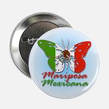 Mariposa Mexicana Button