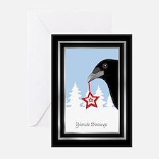 Yuletide Crow Greeting Cards (Pk of 20)