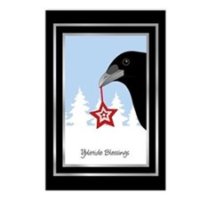 Yuletide Crow Postcards (Package of 8)