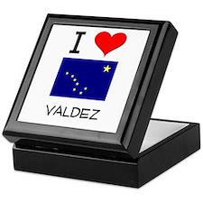I Love VALDEZ Alaska Keepsake Box