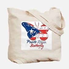 Puerto Rican Butterfly Tote Bag