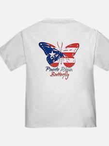 Puerto Rican Butterfly T