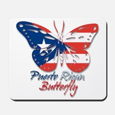 Puerto Rican Butterfly Mousepad