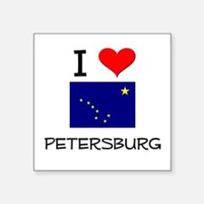 I Love PETERSBURG Alaska Sticker