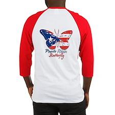 Puerto Rican Butterfly Baseball Jersey