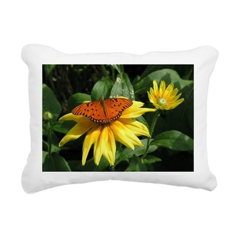 Butterly Rectangular Canvas Pillow